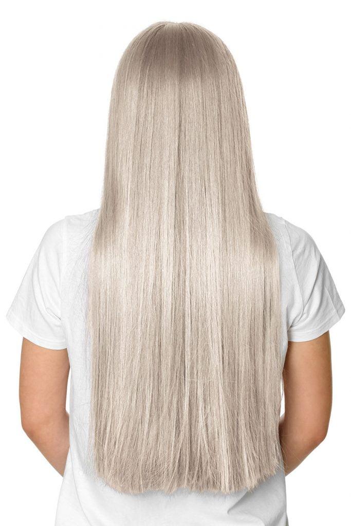 light blonde F